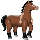 Adult Mr Horsey Inflatable Horse Costume Size Standard