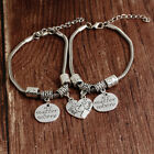 4Fashion Best Friends Love Heart Shaped Bracelet Stitching Bracelet Couple Chain