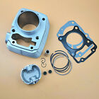 Motorcycle 63.5mm Cylinder Kit Aluminium For Honda XR150 CBF150 Upgrade 185cc