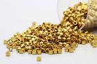 Miyuki Delicas 11 0 Duracoat Galvanized Gold Plated Seed Beads DB 1832