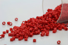 Miyuki Delicas 11 0 Opaque Red Seed Beads DB 723