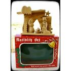 Nativity Set Modern Olive Wood Hand Made Bethlehem Holy Land
