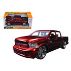 New 2014 Dodge Ram 1500 Pick Up Truck Red Custom Edition 1 24 Diecast Model by J