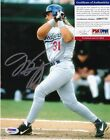 Mike Piazza Rookie Cards and Autograph Memorabilia Guide 42