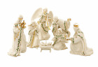 Lenox Holiday Miniature Nativity 7 Piece Figurine Set