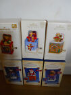 Hallmark JACK-IN-THE-BOX MEMORIES 1 - 6  2003 - 2008    Set of 6 Ornament