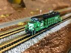 Z scale MTL GP35 Diesel locomotive LED headlight and dich lights DCC rare