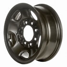 Remanufactured 16X65 Steel Wheel 5 Spokes Black Full Face Painted
