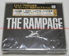 New THE RAMPAGE from EXILE TRIBE THE RAMPAGE 2 CD 2 DVD Japan RZCD-86672
