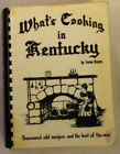 WHATS COOKING IN KENTUCKY 1982 Revised Classic Cookbook by Irene Hayes Signed