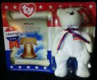 Ty Beanie Babies American Trio Libearty Bear USA Flag patriot Liberty America