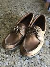 Sperry Top Sider 10 M Mens Authentic Original 2 Eye Boat Shoe Pre Owned