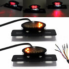 Motorcycle Tail Brake Stop License Plate Light LED Integrated Turn Signal Lights