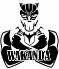 Wakanda Black Panther Marvel Avengers Car Truck decal sticker 12 Colors