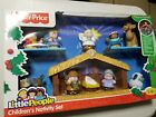 FISHER PRICE LITTLE PEOPLE CHILDRENS NATIVITY SET NEW 2010 CHRISTMAS EDITION