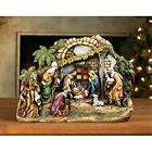 Palm Tree Arch 11 x 145 inch Christmas Nativity Scene Sculpture Decoration