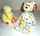 Ty Beanie Baby Peepers  (Chick BBOM 2004) & Eggs TY Bear  2004