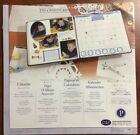 NIP Creative Memories 12 x 12 Calendar Refill Pages 6 Pages Old Style