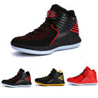 Mens Outdoor Lace Up Assorted Colors Sneakers Basketball Athletic Shoes Comfort