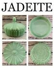 """ Round Covered Candy Dish Jadite"