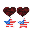 20 Pairs Heart Star Breast Nipple Cover Sticker Bra Pad Patches Disposable