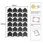120Pcs 5 Sheet Card Photo Frame Corner Sticker Self Adhesive DIY Scrapbook Album