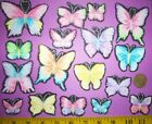 New Cool Glitter Butterflies IRON ONS APPLIQUES IRON ONS