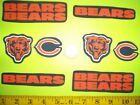 New The Chicago Bears Iron ons Fabric Appliques Iron on