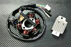 GY6 150CC STATOR 6 POLES WITH RECTIFIER 6 POLES 4 PIN REGULATOR