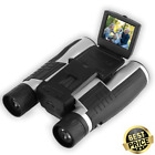Binoculars with Camera HD Video 1080P Spy Digital Camera Folding Prism 12X Zoom