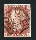QV 1841 1d red brown Sg 7 1d red from black plate 11  K K  Cat  130 +
