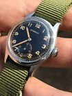 1940s Eterna Military Style Vintage Mens Watch Cal 905H 305mm Steel