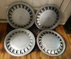 Set of 4 OEM 1980s 90s Oldsmobile Cutlass Ciera 14 Hubcap Wheel Covers 10091673