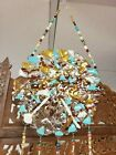 Fused Glass Original Art Extreme Wind Chimes Handcrafted Stunning
