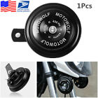 1x Waterproof 12V Motorcycle ATV 110DB Loud Tone Snail Electric Air Horn Speaker