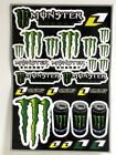 Sticker Monster Energy Drink Claw Vinyl Decal For Motorcycle Windshield Fairing
