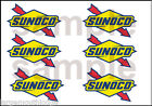 1 INCH SUNOCO DECALS STICKERS