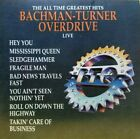 BACHMAN TURNER OVERDRIVE The All Time Greatest Hits Live CD 1986 EXCELLENT MINT