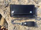black Captain Itch quality right hand chain wallet hand made in Tennessee