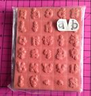 Foam Backed Unmounted Rubber Stamps Lower Case Balloon ALPHABET