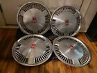Set of 4 OEM 1980s 90s Oldsmobile Cutlass Ciera Achieva 14 Hubcap Wheel Covers