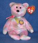 TY CLUBBY 7 VII  the BEAR BEANIE BABY - MINT with MINT TAGS