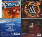 2 CDs, Wheels Of Fire - Hollywood Rocks (2010)+ Up For Anything (2012) Firehouse