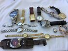 DEALERS LOT OF 15 GENUINE FASHION WATCHES FOR SPARES OR REPAIR ONLY, DKNY ETC