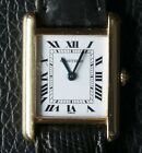 Cartier Tank LC Medium Quartz Quarz 18k 750er Gelb Gold Armbanduhr Damen