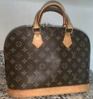 Louis Vuitton LV Alma PM Hand Bag M51130 Monogram Brown 3016