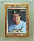 1991 Donruss The Elite Series Jose Canseco 10,000 NM #3 Oakland Athletics A's
