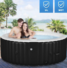 Portable Inflatable Indoor Outdoor Spa Hot Tub Best Whirlpool Spa Relaxing 4 ppl