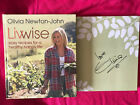 SIGNED OLIVIA NEWTON JOHNLIVWISE Easy Recipes for a healthyhappy lifeHC 1 1