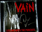 Vain - Rolling With The Punches CD (Signed by Davy Vain 2017) Free Live CD
